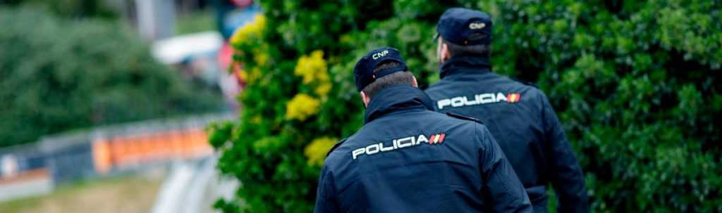 trabajar de policia nacional