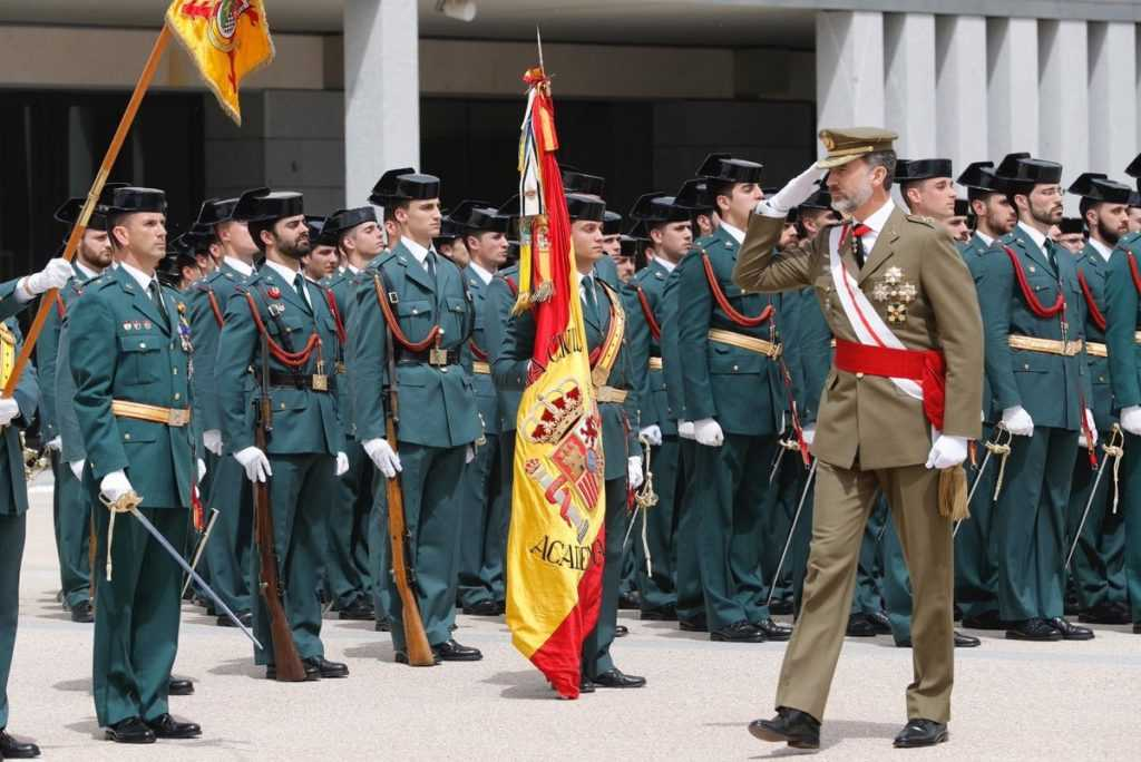 salario Guardia Civil