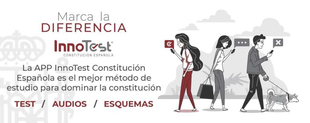 App para estudiar la Constitución española para oposiciones.