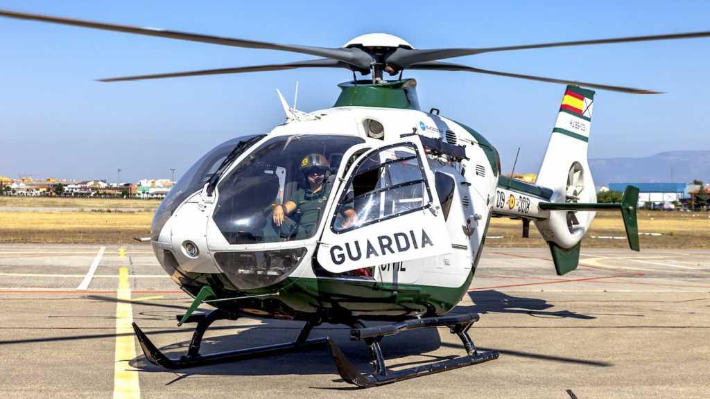 servicio aereo guardia civil