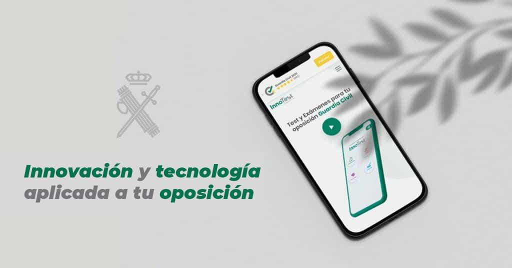 Descarga app oposiciones Guardia Civil.